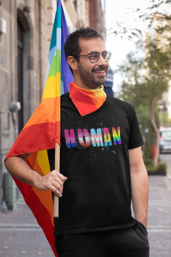 Pride Human LGBTQIA T-Shirt