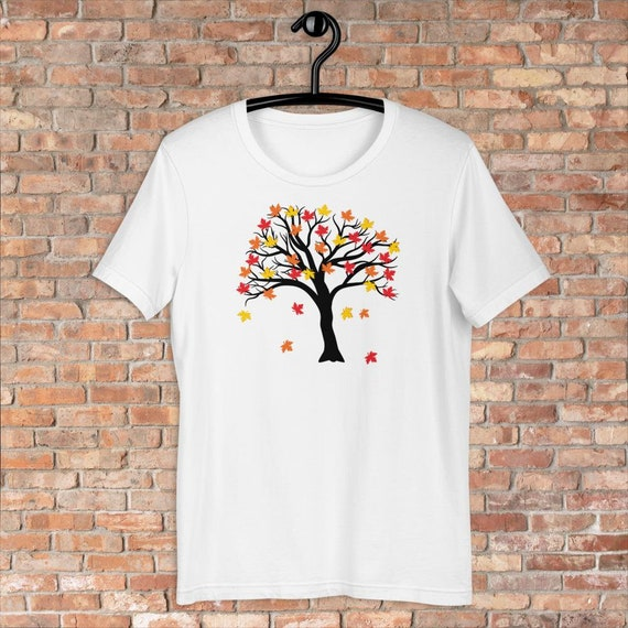 Fall Vibes Maple Tree T-Shirt