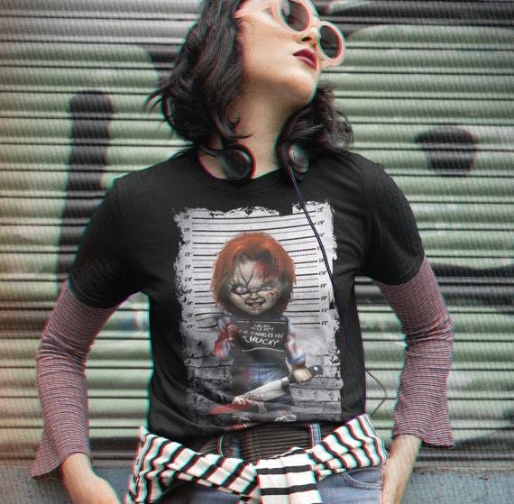 Chucky Childs Play Classic Horror Movie Halloween T-Shirt
