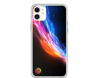 Raging Flame iPhone Case