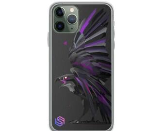 Cosmic Raven iPhone Case