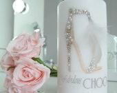 Glamorous designer inspired candle - Stunning jewelled fashion statement only at HappyLittleMeCo