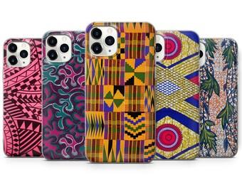 African Kente Printed iPhone Case Black Queen iPhone Case Afrocentric iPhone Case Black Women iPhone Case Ethnic iPhone Case