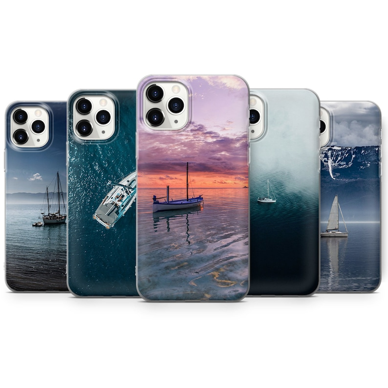 Boat Phone case Cover for iPhone 7 P30 Pro Q88 8+ A51 11 /& Samsung S10 Lite Huawei P20 A40 XS XR A50 S20