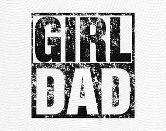 Hashtag Girl Dad Gift for Dads with Daughters Christmas Gift T-Shirt