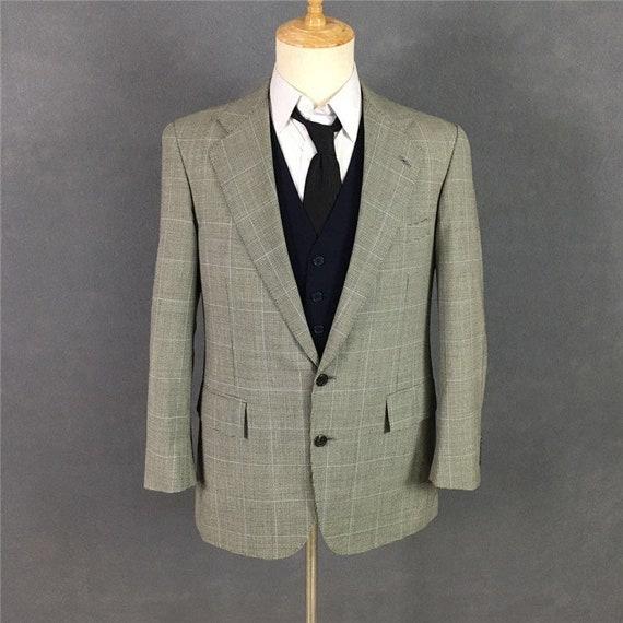 Houndstooth Ralph Lauren Vintage Suit Blazer Jacke