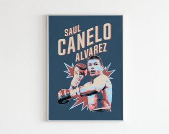 SAUL CANELO ALVAREZ Boxer PHOTO Print POSTER Floyd Mayweather Gennady Golovkin 1