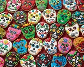 Sugar Skull Cookies - 1000pc Jigsaw Puzzle Toys Games Gift for Birthday and Holiday - Boys, Girls, Adults