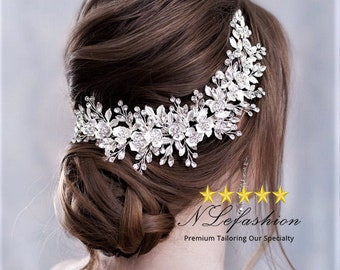Bridal Headpieces ▷ to Choose • Wedding Headpieces with Rhinestones & Pearls • Bridal Hair Accessories • FREE Pick up in Toronto, Canada
