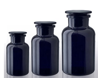 Apothecary Jar Violet Glass | 500 ml, 1 liter or 2 liter sizes available