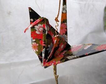 Origami Peace Crane Ornaments