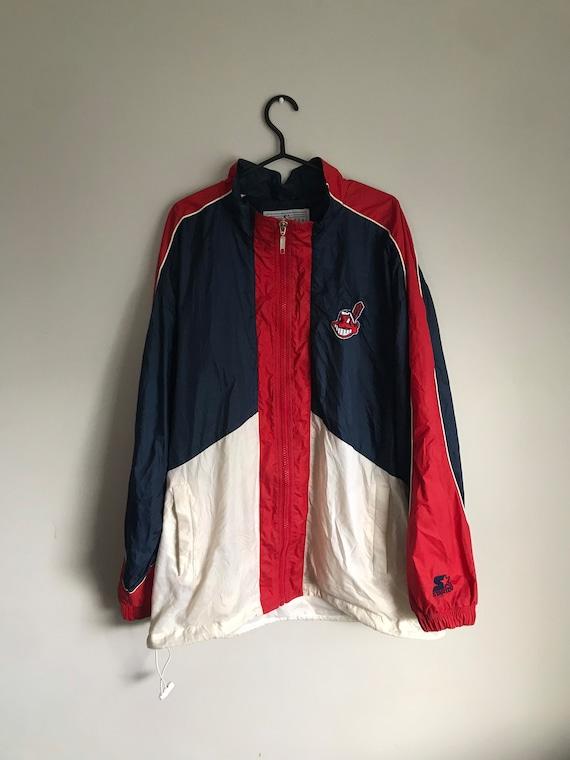 MLB Cleveland Indians Vintage Starter Jacket Men's