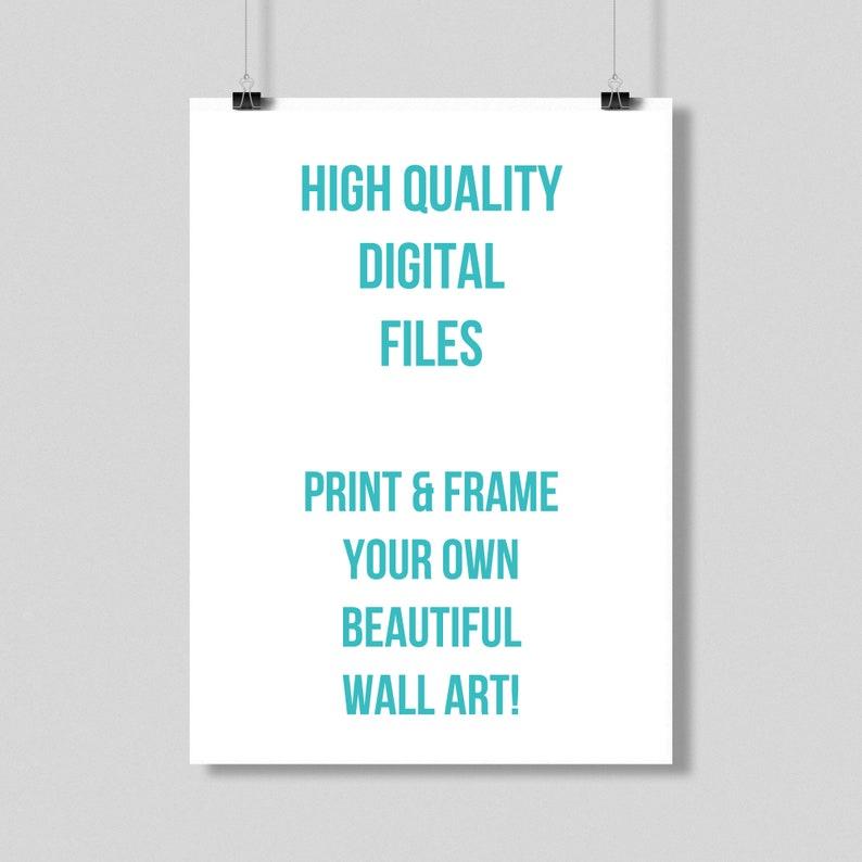Poster Printable Song Lyrics Home Decor Digital Download ONLY Wall Art