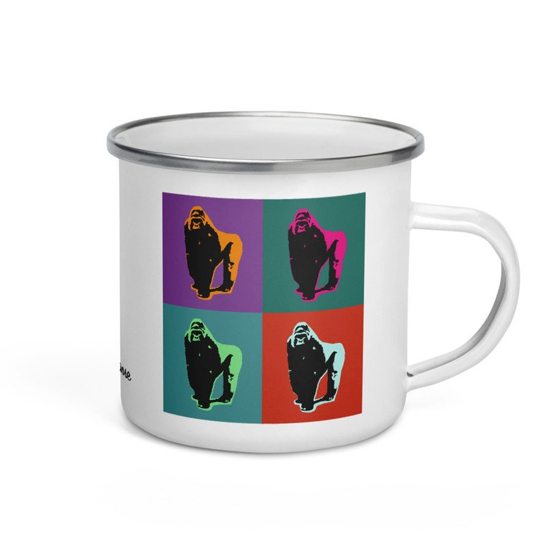 Eastern lowland gorilla  camper mug image 0