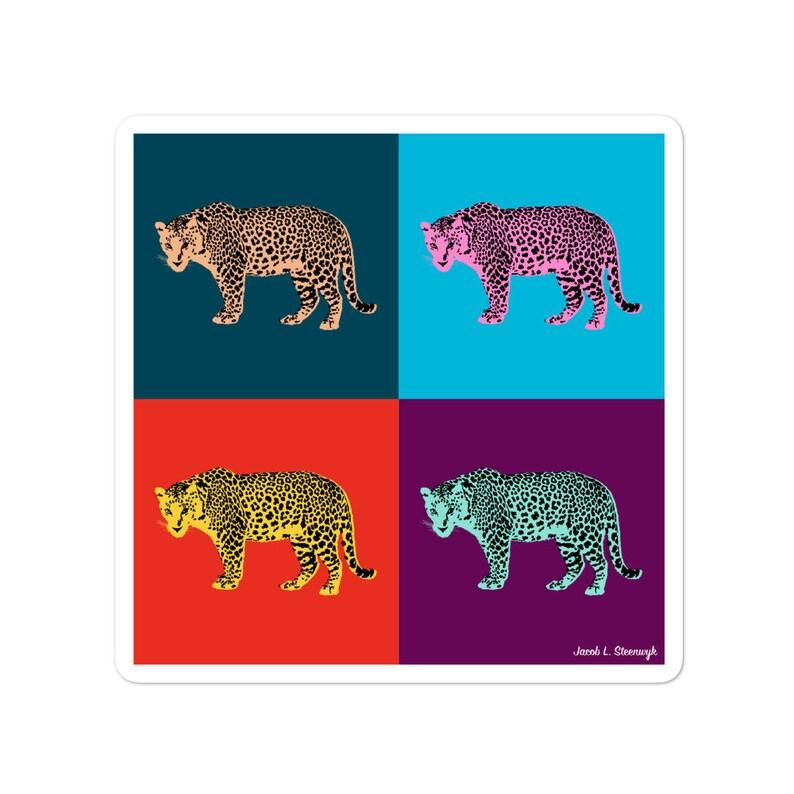 Amur leopard  vinyl stickers image 0