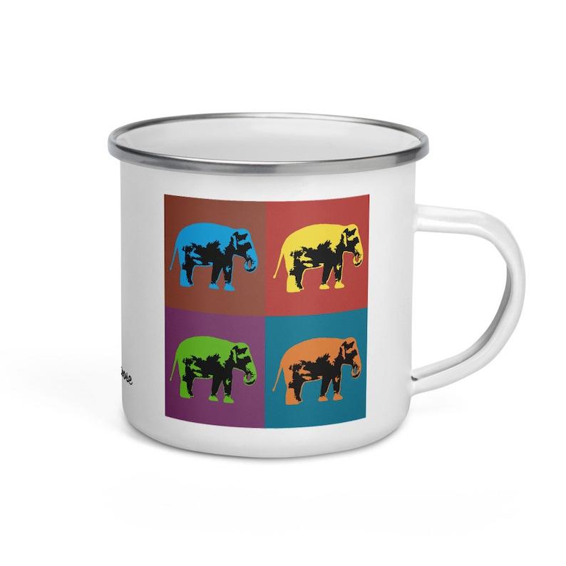 Sumatran elephant  camper mug image 0