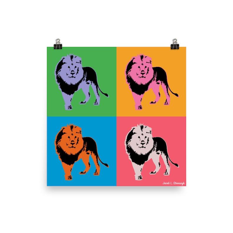 Lion  Poster image 1