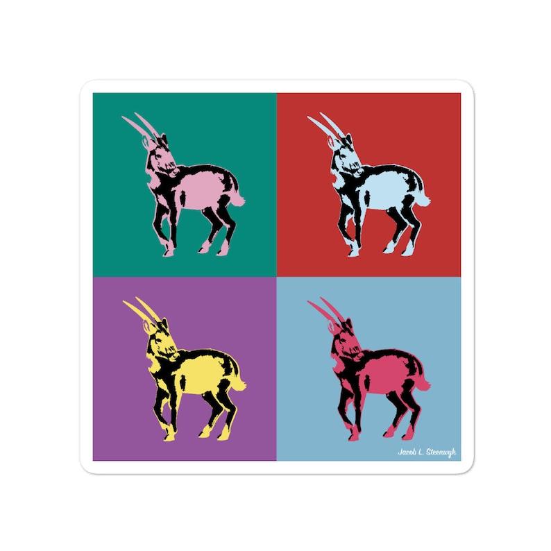 Saola  vinyl sticker image 1