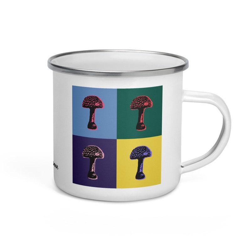 Fly agaric  camper mug image 1