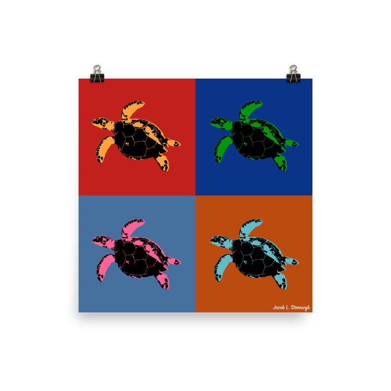 Hawksbill turtle  Poster image 1