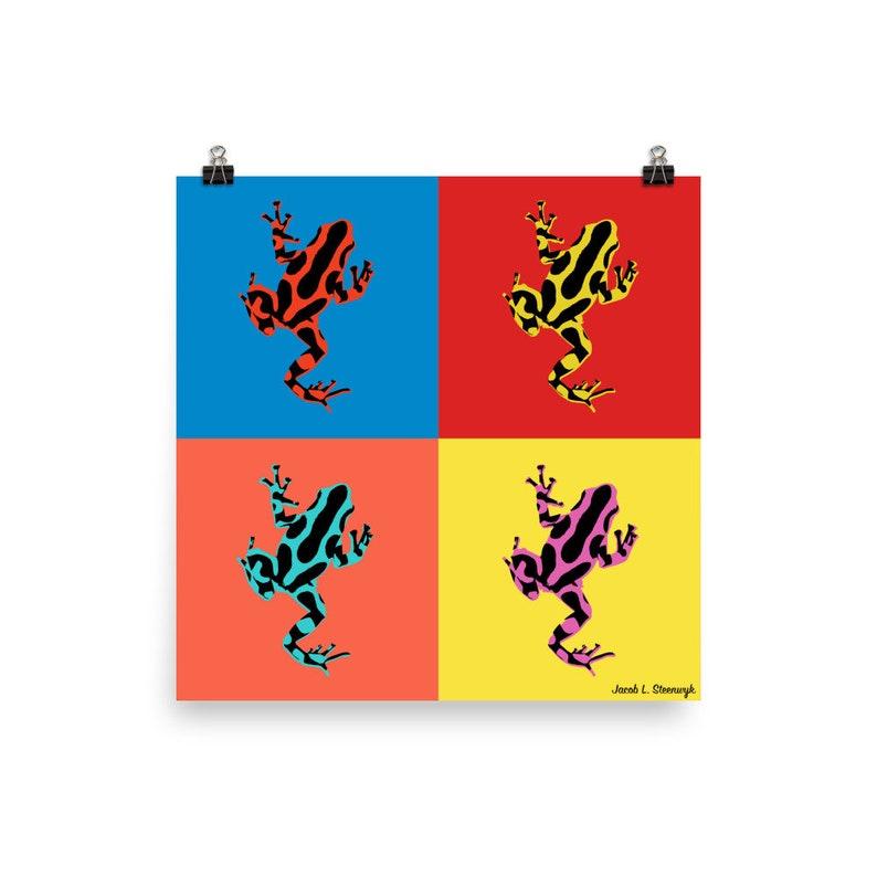 Poison dart frog  Poster image 0