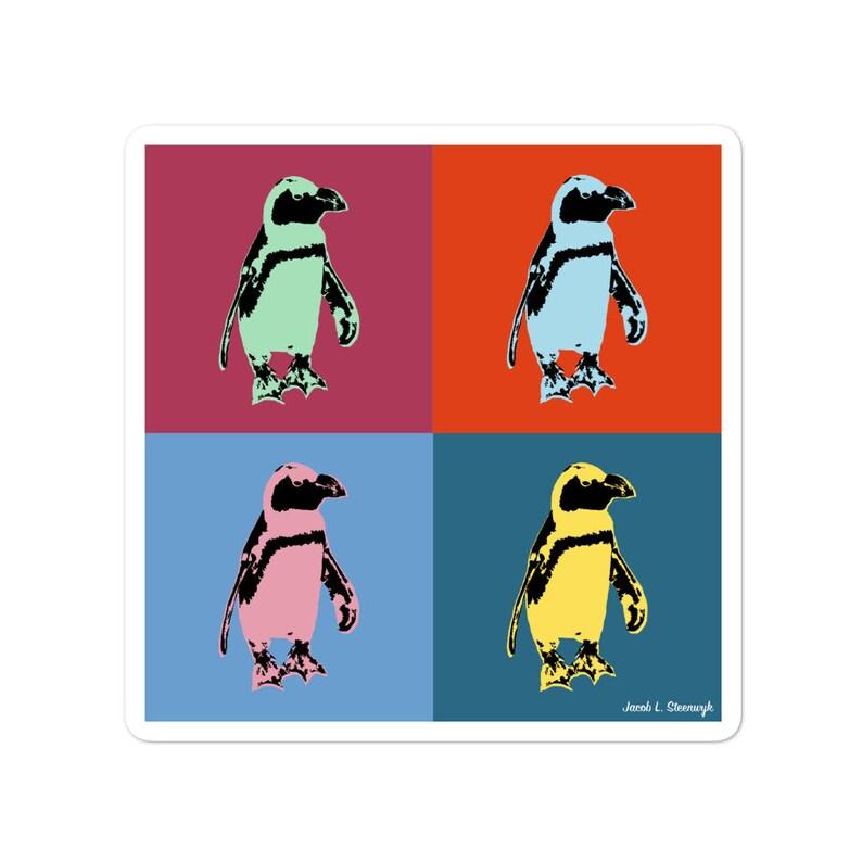 Galápagos penguin  vinyl stickers image 0
