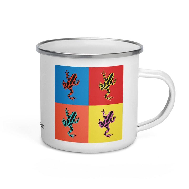 Poison dart frog  camper mug image 0