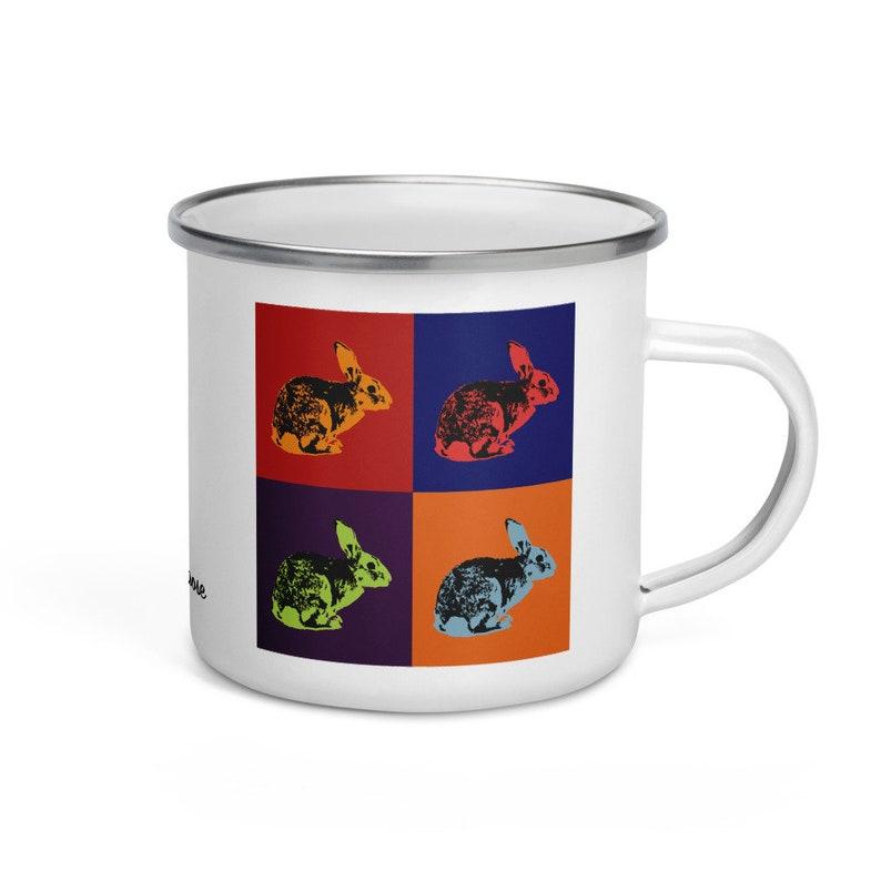 Rabbit  camper mug image 0