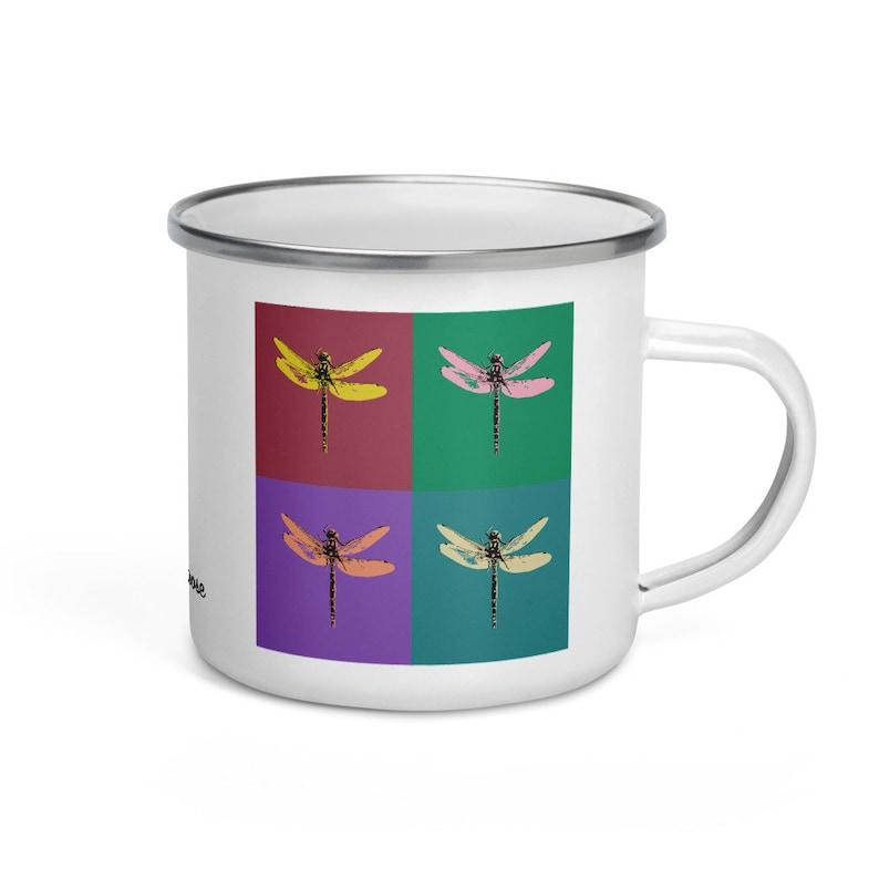 Dragonfly  camper mug image 0