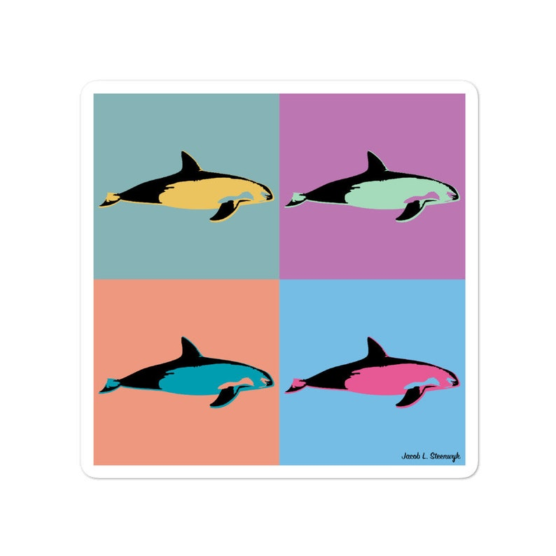 Vaquita  vinyl sticker image 0