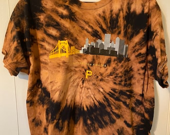 Pittsburgh Pirates Bleached T-shirt
