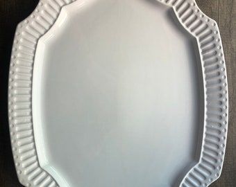 """American Girl gold star logo serving tray platter large dish plate 18/"""" dolls NEW"""