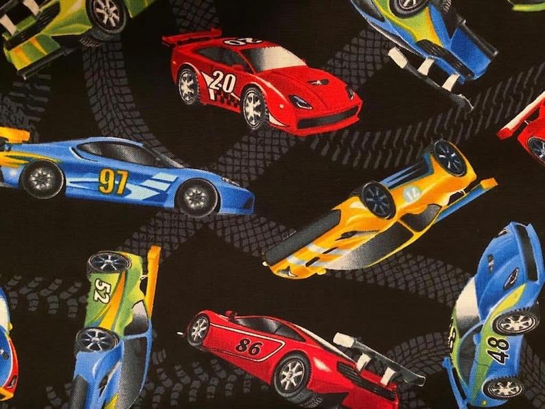 Sports Car Turbo Cars Chevy Audi Jaguar Mustang Corvette Race 100/% Cotton Quilt Craft Face Mask Fabric 18\u201d X 21\u201d FQ New