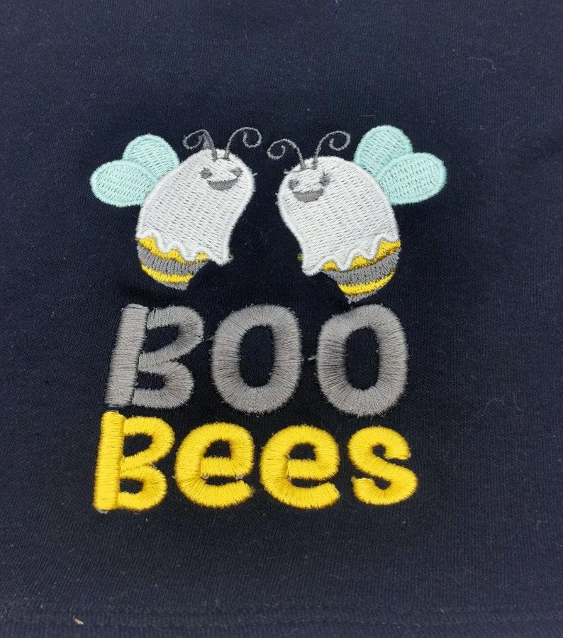 black baby bib boobies baby bib baby feeding bib breast feeding baby bib embroidered baby bib gift Boo Bees baby bib
