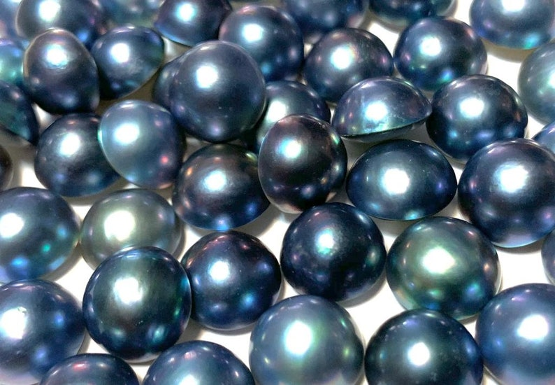 MABE WHOLESALE price  50 PCS Rond  1011 or 1112 choose size Cultured pearl