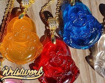 Custom Buddha Pendant Necklaces