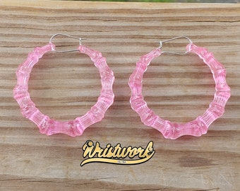 Translucent Bamboo Earrings
