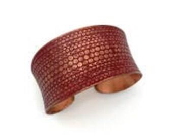Copper Patina Bracelet
