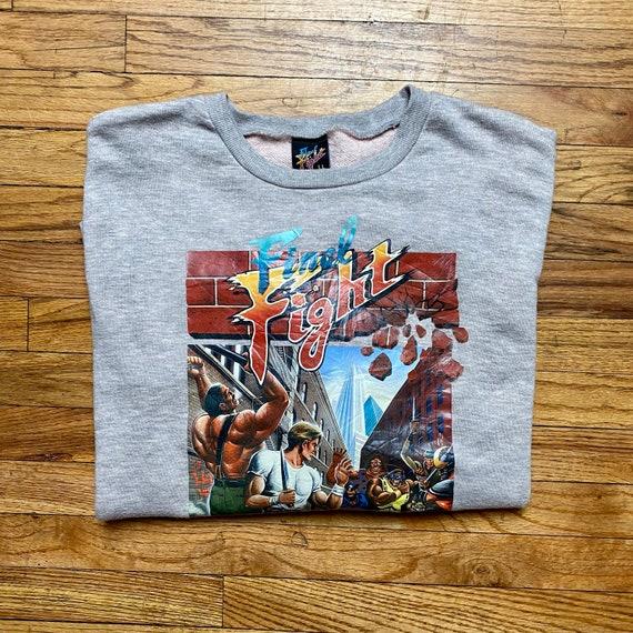 80's Final Fight Video Game Crew Neck Sweatshirt
