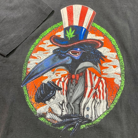 """1992 The Black Crowes """"High As The Moon"""" Tour Tee - image 3"""