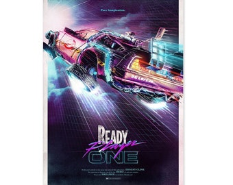Ready Player One Poster Movie Art No Frame