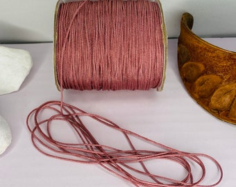 Macrame yarn 0.8 mm - 1 mm made of nylon for jewelry production   String, cord, ribbon   10 meters   Craft yarn   Macrame Band