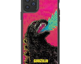 cute iphone case iPhone 11 pro max cover Godzilla spoof funny iPhone 12 mini pro max case