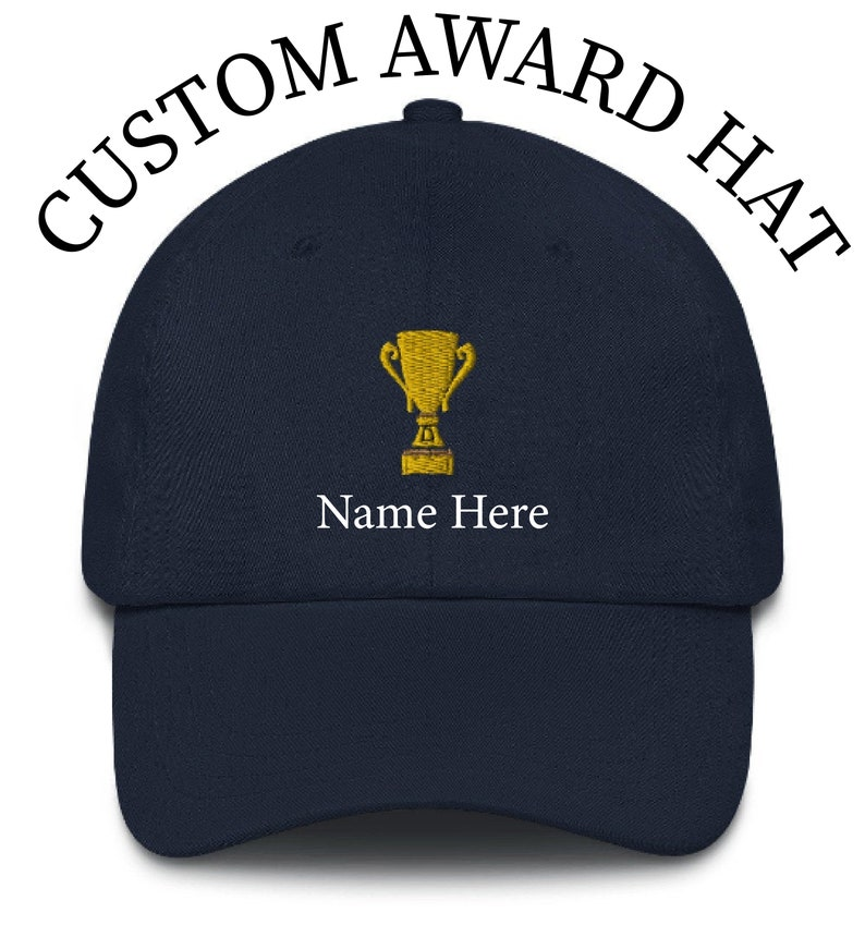 Gift for Dad Custom Hat Personalize Your Hat Personalized Award Embroidered Hat Custom text Gift for Her Baseball Cap