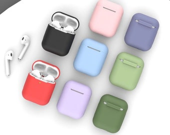 Airpods Case Liquid Silicone Airpods 1 Airpods 2
