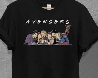 Drôle Born in the U.S T-shirt Captain America fesses MARVEL SUPERHERO Drôle Top