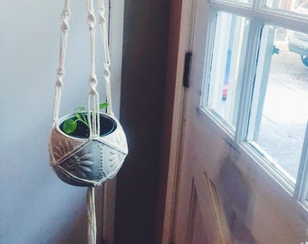 Macrame Decoration Crazy Plant Lady Indie Room Decor Teen Girl Room Decor Macrame Mural Plant Lovers Gift Mothers Day from Daughter