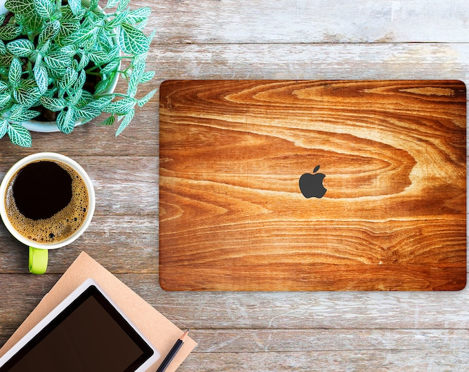 APPLE MACBOOK Wooden SKINS vinyl decal cover for all body laptop protection