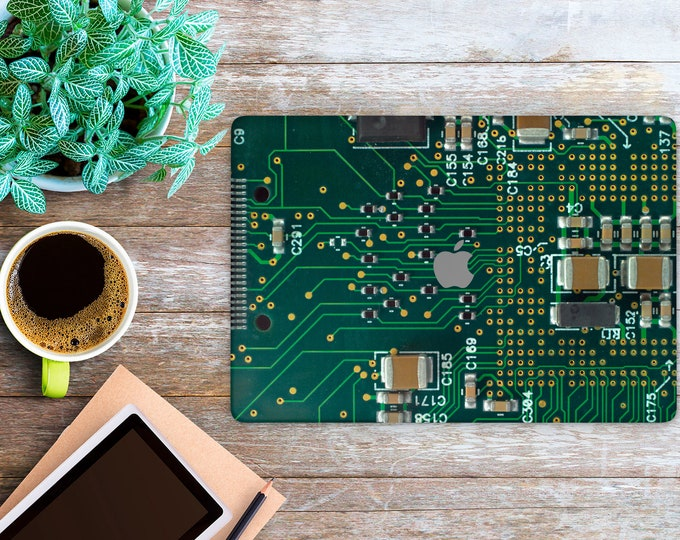 APPLE MACBOOK Electrical Circuit Board SKINS vinyl decal cover for all body laptop protection
