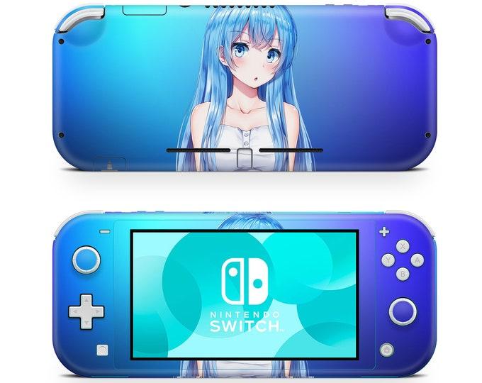 Anime 2 Nintendo Switch Lite skin vinyl decal